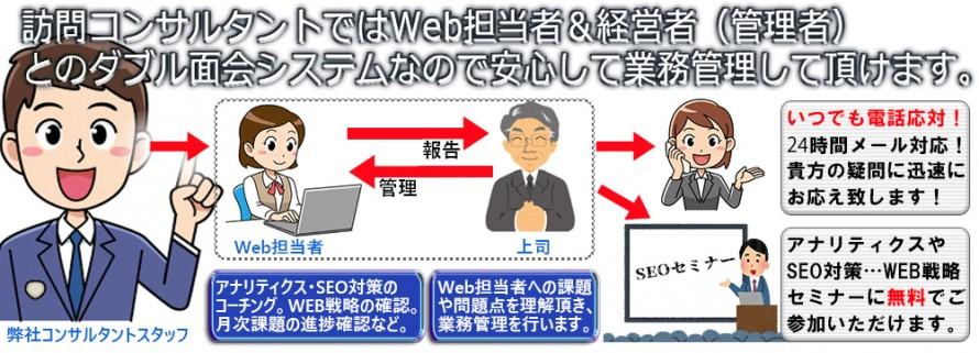 Webコンサルタントフローチャート